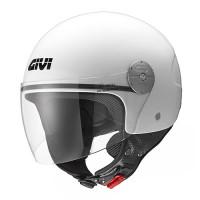 Givi 10.7 Mini-J Solid Colour jet helmet White