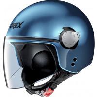 Grex G3.1 E KINETIC jet helmet Blue