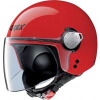 Grex G3.1 E KINETIC jet helmet corsa Red
