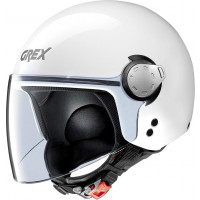 Grex G3.1 E KINETIC jet helmet Metal White