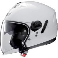 Grex G4.1 E KINETIC jet helmet Metal White