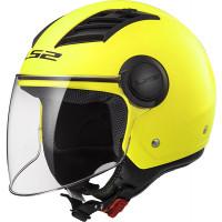LS2 OF562 AIRFLOW L MATT jet helmet Giallo HiVis