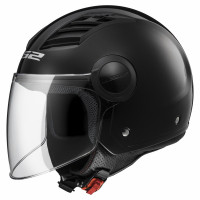 LS2 OF562 Airflow L jet helmet Black