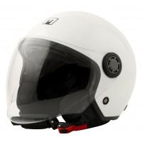 MOTORPARTS ONE jet helmet Gloss White
