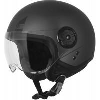 Origine Neon Easy Matt Titanium jet helmet