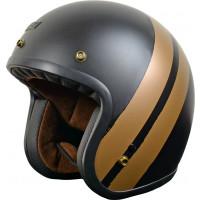 Origine Primo Jack jet helmet Matt Bronze Black