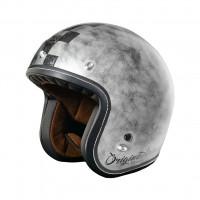 Origine Primo Scacco jet helmet matt Silver
