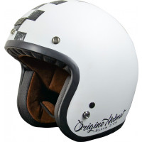 Origine Primo Scacco jet helmet Matt Black White