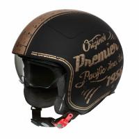 Premier ROCKER OR19 BM jet helmet Black Gold