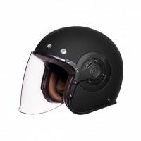 SMK Eldorado jet helmet Matt Black