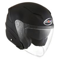 Suomy SPEEDJET PLAIN jet helmet MATT BLACK