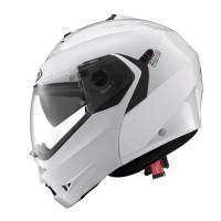 Caberg Duke II flip up helmet metal white