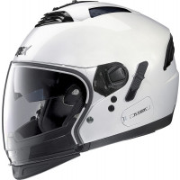 Grex G4.2 PRO KINETIC N-COM  flip up helmet Metal White