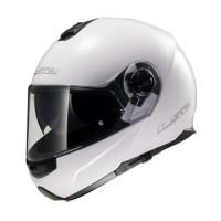 LS2 FF325 Strobe flip off helmet White