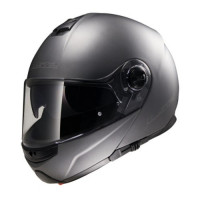 LS2 FF325 Strobe flip off helmet matt Titanium