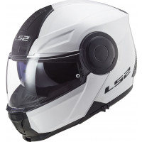 LS2 FF902 SCOPE SOLID flip up helmet WHITE