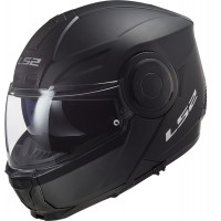 LS2 FF902 SCOPE SOLID flip up helmet MATT BLACK