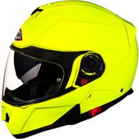 SMK Glide Basic modular helmet Yellow