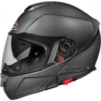SMK Glide Basic modular helmet Matt Black