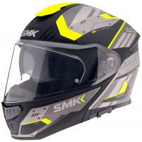 SMK GULLWING TEKKER modular helmet Grey Yellow Black