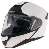 SMK GULLWING UNICOLOUR modular helmet White