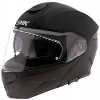 SMK GULLWING UNICOLOUR modular helmet Black