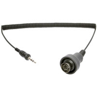 Sena stereo connector cable, 3.5mm 7-pole for SM10 stereo transmitter specific for 1998 later harley Davidson Ultra classic