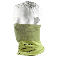 SIXS TBX multifunctional neck warmer cylinder Lime yellow