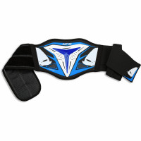 Ufo Plast Demon Offroad enduro Kid lumbar belt blue