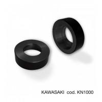 Pair of Barracuda handlebar adapter for Kawasaki