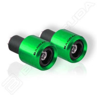 Couple of universal counterweights Barracuda aluminum Green