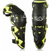 Acerbis IMPACT EVO 3.0 Knee Guards black yellow