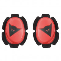 PISTA KNEE SLIDER FLUO-RED/BLACK
