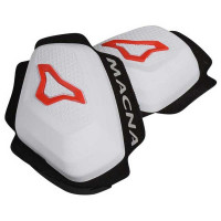 Macna Knee sliders White red