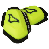 Macna Knee sliders Yellow black