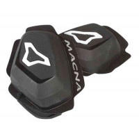 Macna Knee sliders Black white