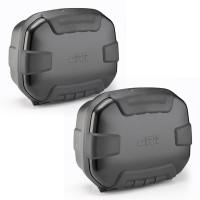 TRK35 TREKKER pair of side cases 35LT Black