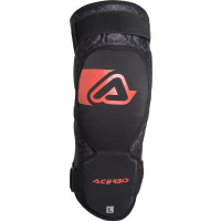 Acerbis X-KNEE SOFT couple knee guard Black Red