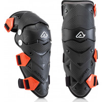Acerbis IMPACT EVO pair of Kid knee protector Black Red