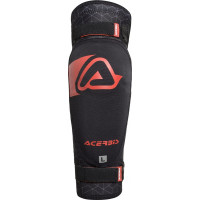 Acerbis X-ELBOW SOFT couple elbow guard Black Red
