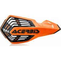 Acerbis X-Future pair of handguards Orange Black