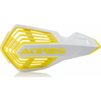 Acerbis X-Future pair of handguards White Yellow