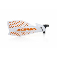 Acerbis pair of handguard cross X-Ultimate white orange