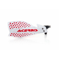 Acerbis pair of handguard cross X-Ultimate white red