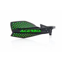 Acerbis pair of handguard cross X-Ultimate black green