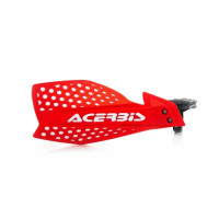Acerbis pair of handguard cross X-Ultimate red white