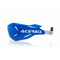 Acerbis X-Factory universal handguards Blue White