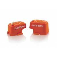 Pair of brake-clutch caliper Brembo Acerbis 0021680 Orange