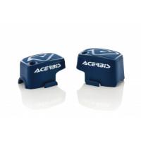 Pair of brake-clutch caliper Brembo Acerbis 0021680 White Blue