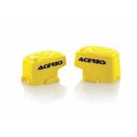 Pair of brake-clutch caliper Brembo Acerbis 0021680 Yellow